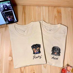 泰國客製手繪動物T-shirt