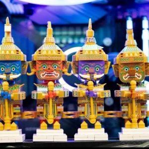泰國LOZ守護神拉瑪堅Q版積木組