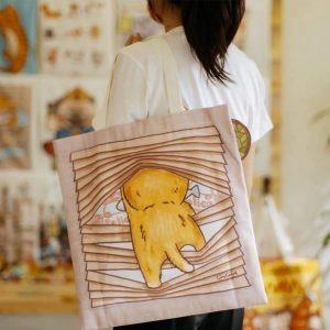 泰國文創可愛帆布包